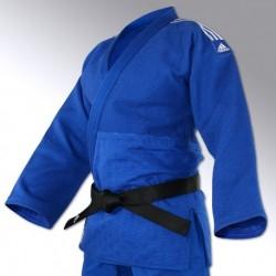 kimono de judo bleu Champion II-IJF adidas