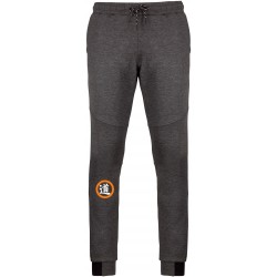 Pantalon gris/orange Budo