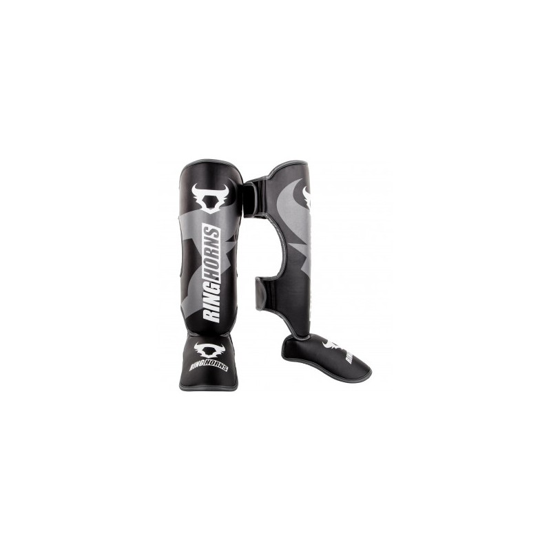 PROTEGE TIBIA PIEDS RINGHORNS CHARGER NOIR