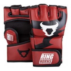 GANTS MMA RINGHORNS CHARGER ROUGE